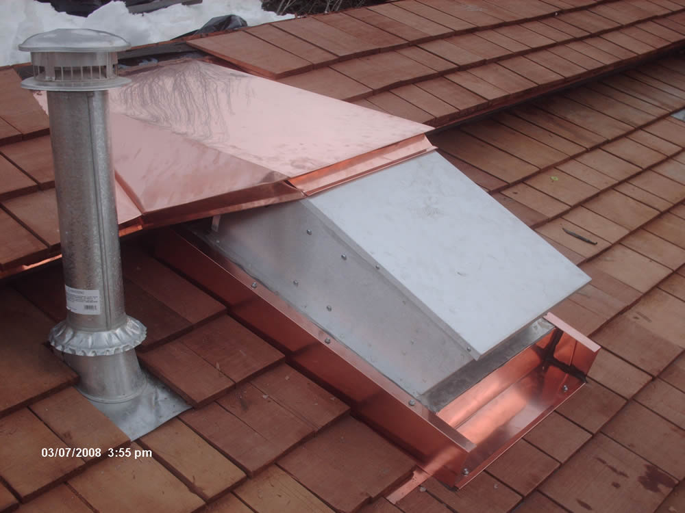 Chimney Shrouds Professional Roofing